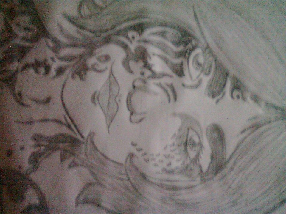 Dibujo A Blanco Y Negro Por OscarG96