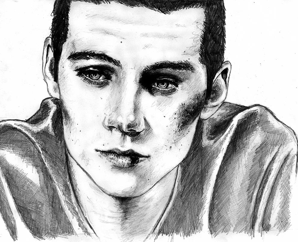 Dylan Obrien Por Vanwyngarden Dibujando