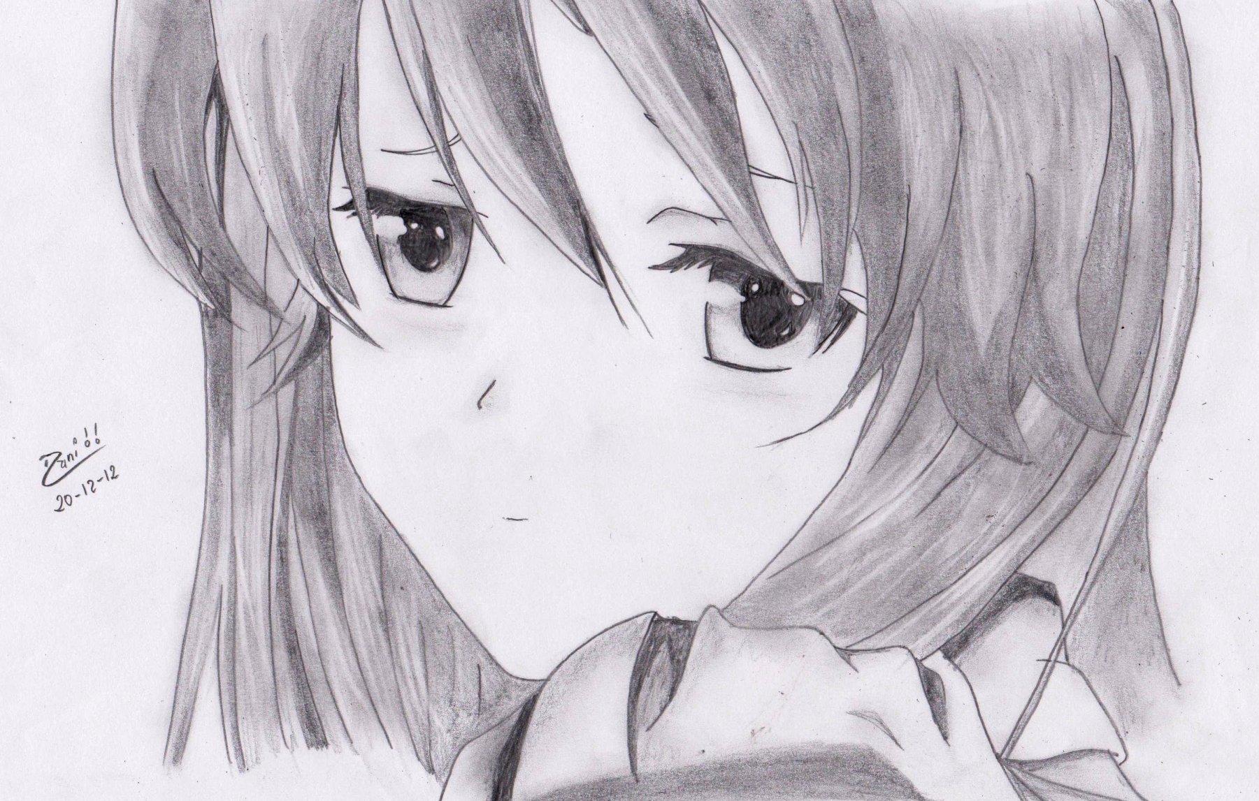 Dibujos De Animes Tristes Para Dibujar