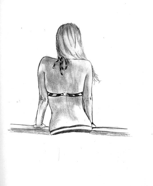 Espalda De Mujer Por Efrainsosart Dibujando