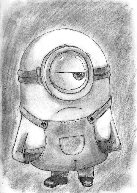 Minion Por Efrainsosart Dibujando