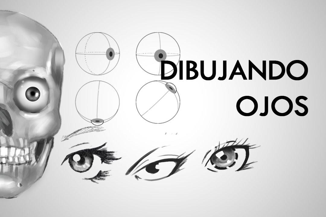 Como dibujar ojos, sus partes y fundamentos por AndresPaez | Dibujando