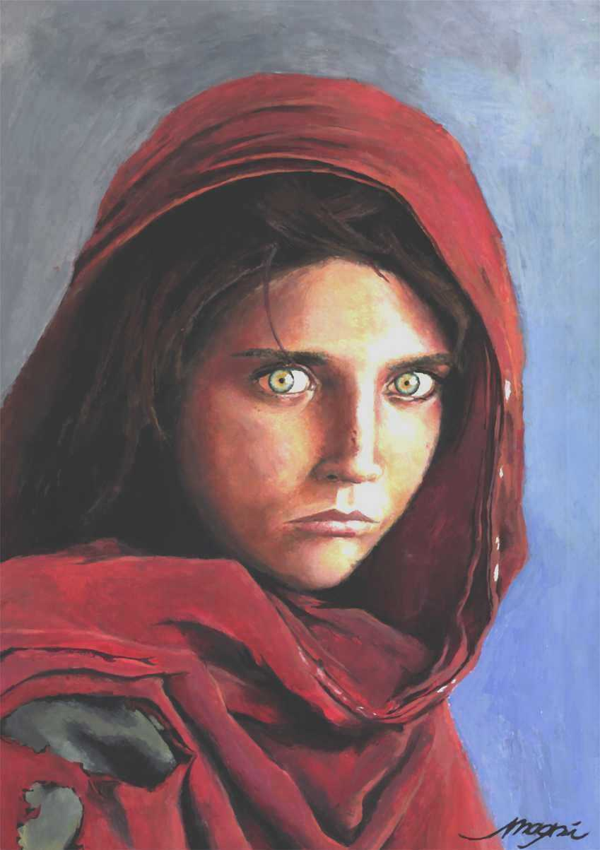 Iconic 'Afghan Girl,' Sharbat Gula, Target Of Fake ID Probe In ...
