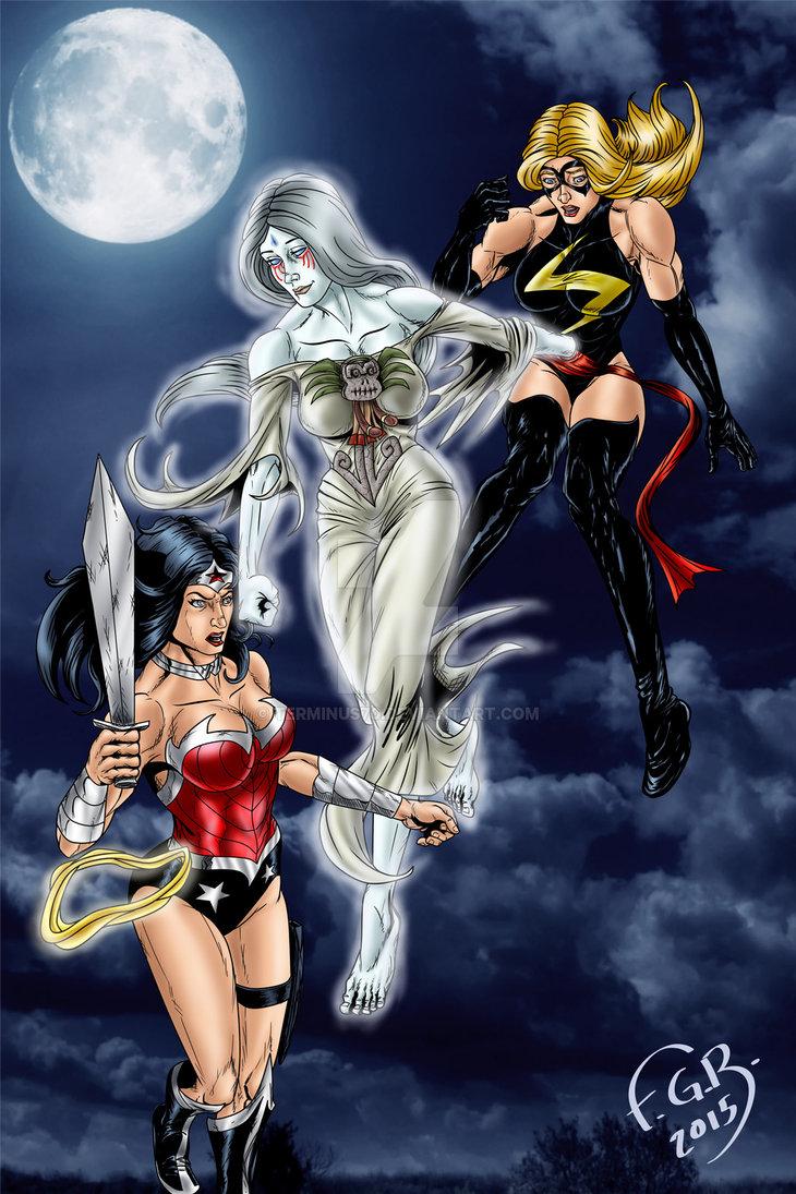 cihuacoatl_vs_wonder_woman_and_captain_marvel_by_terminus70_d934mlf_230965.jpg