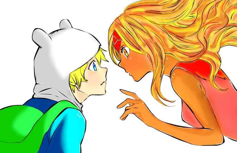 finn_x_flame_princess___lineart__anime_version__by_nikocopado_d6cpx1h_297674.png