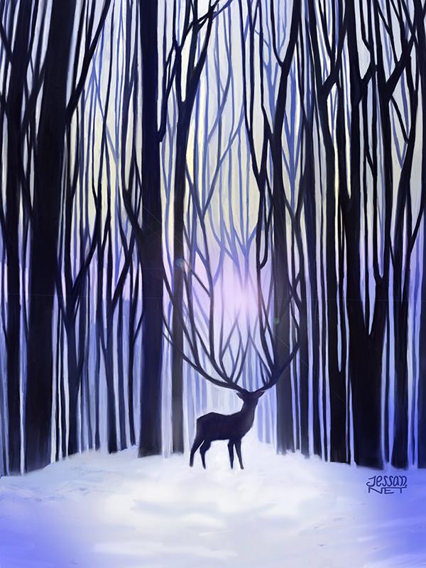 Jessan_Wood_and_deer_358938.jpg