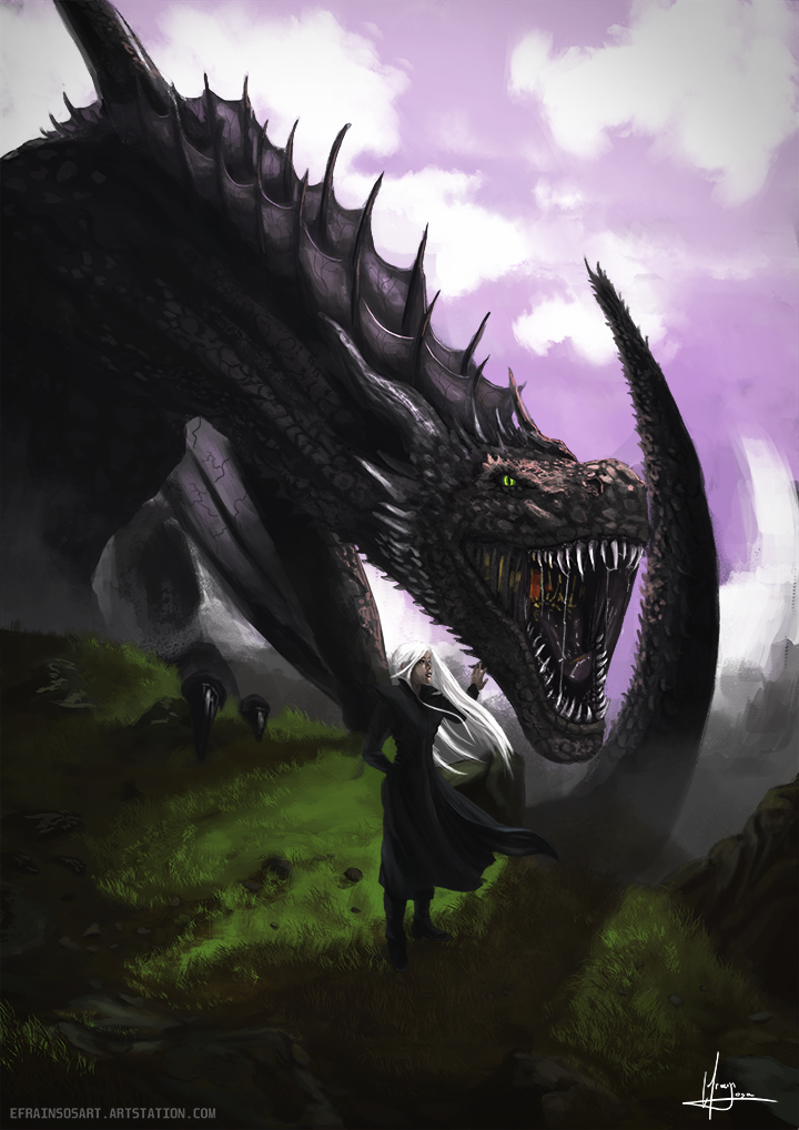 Daenerys_and_Dragon_By_Efrain_Sosa_347641.png