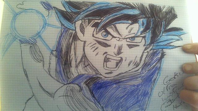 50 Imágenes De Goku Para Dibujar: Dibujo De Goku Ultra Instinto