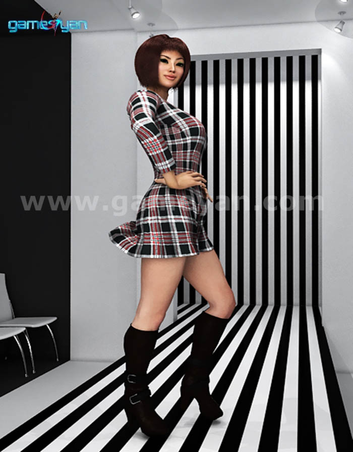 Fahion_lady_catwalk_animation_model_character_black_and_white_streips_chairs1_398391.jpg