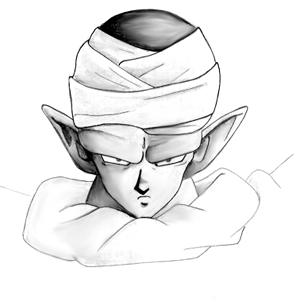 Piccolo De Dragon Ball Dibujando