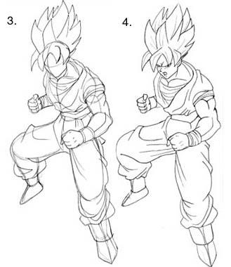 Cuerpos estilo Dragon Ball | Dibujando