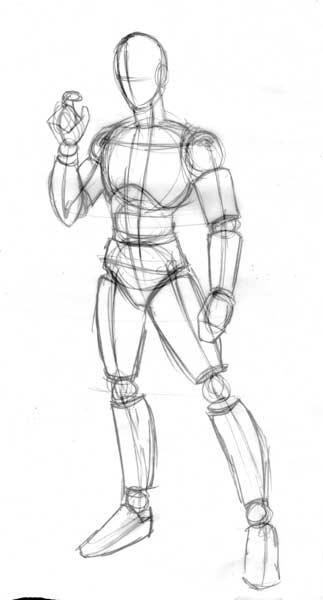 El cuerpo masculino dibujando for Croquis un libro de arquitectura para dibujar pdf