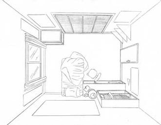 Iluminando una habitacion dibujando for Habitacion dibujo